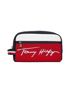 Tommy Hilfiger - TH Signature Washbag -toilettilaukku - DW5 DESERT SKY | Stockmann