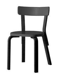 Artek - 69-tuoli, koottu - MUSTA | Stockmann
