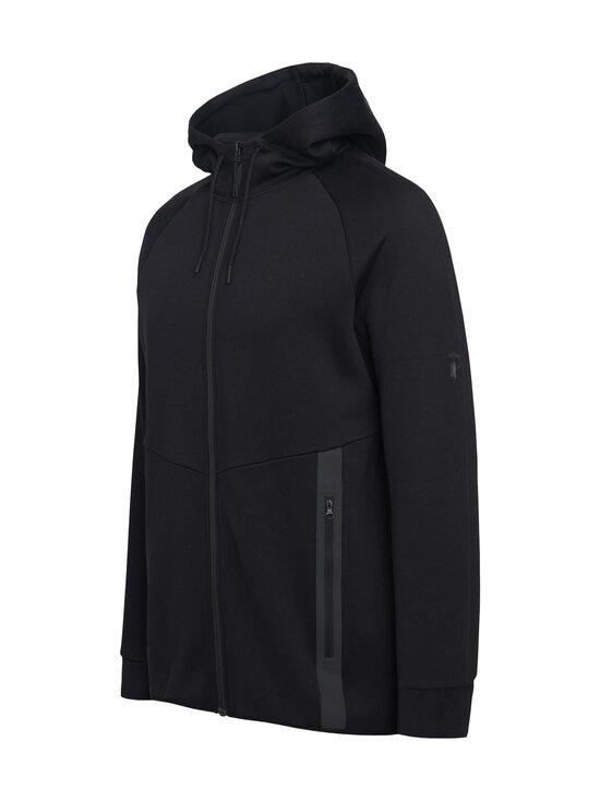 Peak Performance - M Tech Zip Hood -huppari - 050 BLACK | Stockmann - photo 3
