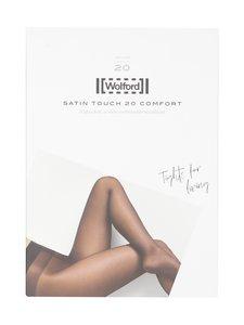 Wolford - Satin Touch Comfort 20 den -sukkahousut - 7005 BLACK | Stockmann