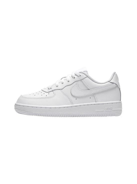 Nike - Air Force 1 -nahkasneakerit - WHITE/WHITE/WHITE (VALKOINEN) | Stockmann - photo 1