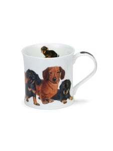 Dunoon - Wessex Designer Dogs Dachshunds -muki 0,3 l - MULTICOLOR | Stockmann