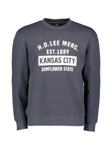 Lee - Sweatshirt HD Lee Merc -collegepaita - WASHED NAVY | Stockmann