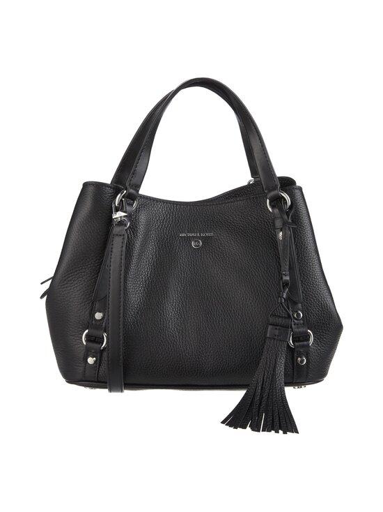 Michael Michael Kors - Carrie Medium Shoulder Bag -nahkalaukku - 001 BLACK | Stockmann - photo 1