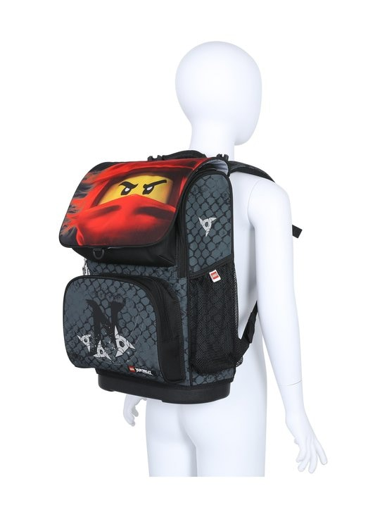 Lego - Optimo Schoolbag With Gymbag -reppu - 2001 - LEGO NINJAGO KAI OF FIRE | Stockmann - photo 8