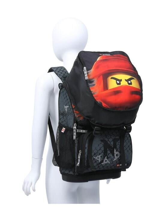 Lego - Optimo Schoolbag With Gymbag -reppu - 2001 - LEGO NINJAGO KAI OF FIRE | Stockmann - photo 9