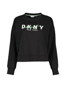 DKNY Sport - Graphic Script Logo -collegepaita - BLK BLACK | Stockmann