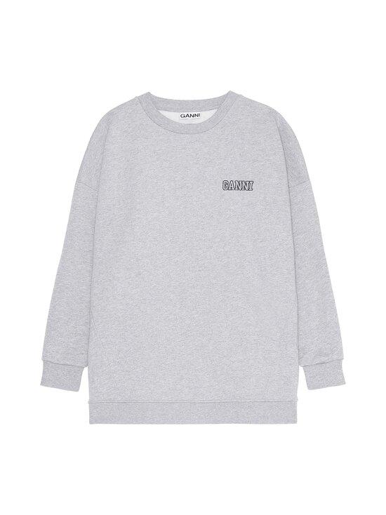 Ganni - Software Isoli Oversized Sweatshirt -collegepaita - PALOMA MELANGE 921 | Stockmann - photo 1