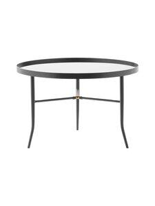 Normann Copenhagen - Lug Table Large -pöytä 44,5 x ⌀ 68 cm - GREY | Stockmann