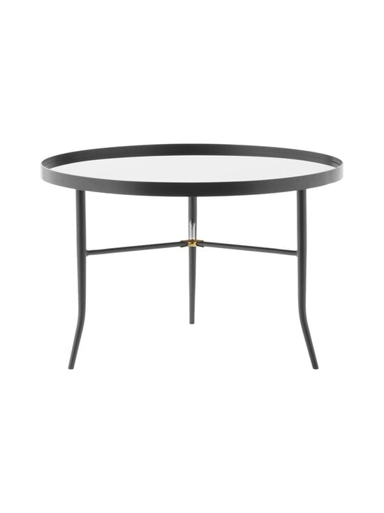 Normann Copenhagen - Lug Table Large -pöytä 44,5 x ⌀ 68 cm - GREY | Stockmann - photo 1
