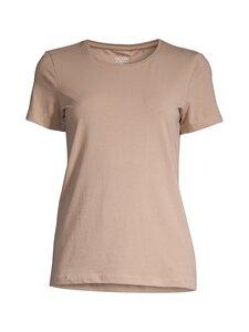 NOOM - Caron t-shirt basic organic cotton -luomupuuvillapaita - NUTRIA BEIGE | Stockmann