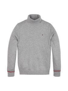 Tommy Hilfiger - Essential Turtle Neck -paita - P6U MID GREY | Stockmann