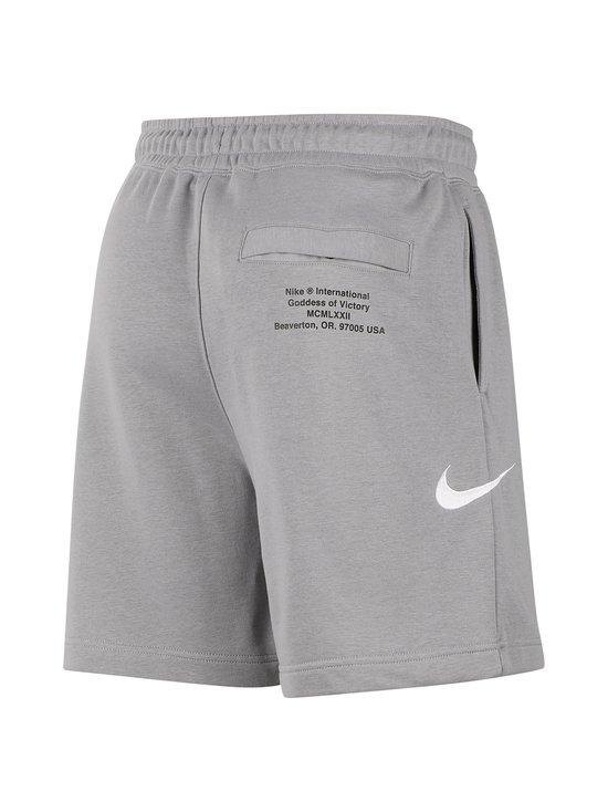 Nike - Swoosh French Terry -collegeshortsit - 073 PARTICLE GREY/WHITE | Stockmann - photo 2