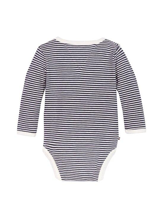 Tommy Hilfiger - Baby Girl Ruffle -body - 0A4 TWILIGHT NAVY/ WHITE | Stockmann - photo 2