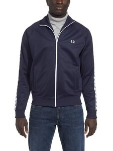 Fred Perry - Sports Authentic Taped Track Jacket -takki - 885 CARBON BLUE | Stockmann
