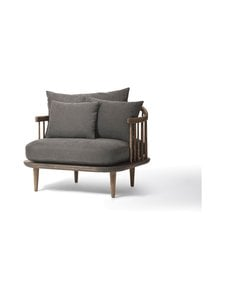 &tradition - Fly SC1 -tuoli - SMOKED OILED OAK / DARK GREY   Stockmann