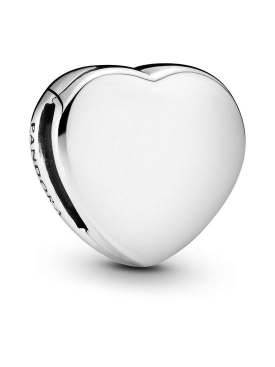 Pandora - Simple Heart Clip Charm -hela - SILVER | Stockmann - photo 1