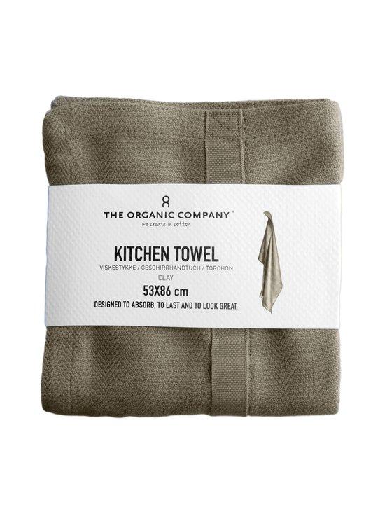 The Organic Company - Kitchen Towel -keittiöpyyhe 53 x 86 cm - CLAY (HARMAANBEIGE)   Stockmann - photo 3