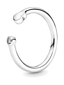Pandora - Heart Sterling Silver Open -sormus - SILVER | Stockmann