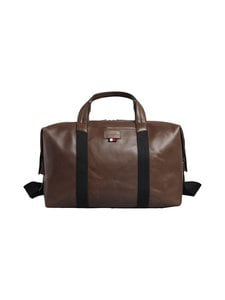 Tommy Hilfiger - Casual Leather Duffle -laukku - 0HD CIGAR | Stockmann