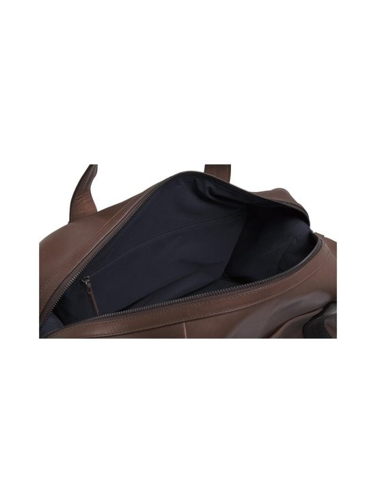 Tommy Hilfiger - Casual Leather Duffle -laukku - 0HD CIGAR | Stockmann - photo 4