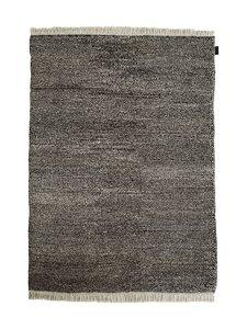 Sera Helsinki - Tuohi-villamatto 100 x 200 cm - BLACK/NATURAL WHITE (MUSTA/LUONNONVALKOINEN) | Stockmann