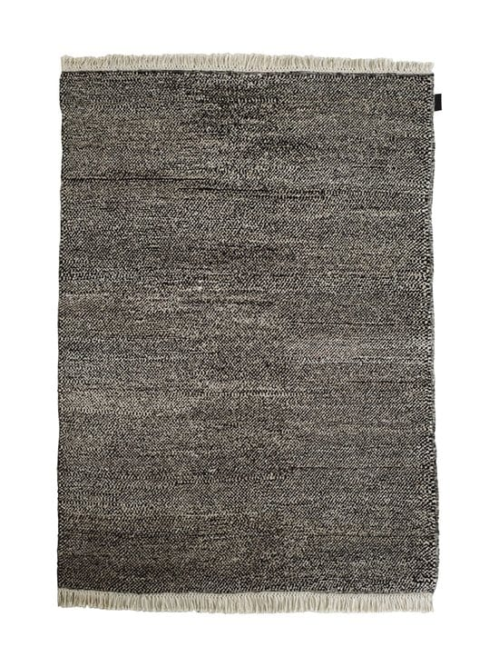 Sera Helsinki - Tuohi-villamatto 100 x 200 cm - BLACK/NATURAL WHITE (MUSTA/LUONNONVALKOINEN) | Stockmann - photo 1