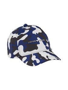 Emporio Armani - Junior Boys Baseball Cap -lippalakki - 00020 LOGO BLUE | Stockmann