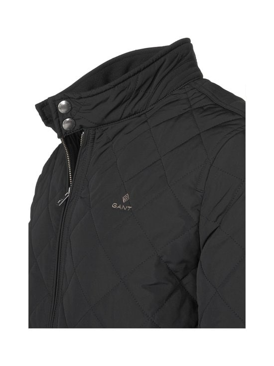GANT - Quilted Windcheater -takki - 5 BLACK | Stockmann - photo 3