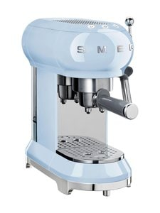Smeg - ECF01PBEU-espressokeitin - VAALEANSININEN | Stockmann
