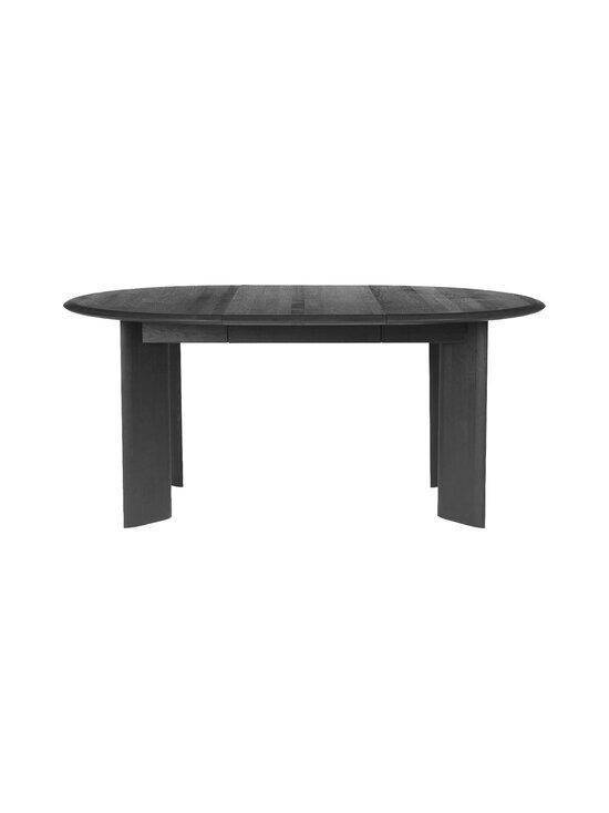 Ferm Living - Bevel Table Extendable -jatkettava pöytä 73 x 117-167 cm - BLACK OILED OAK   Stockmann - photo 1