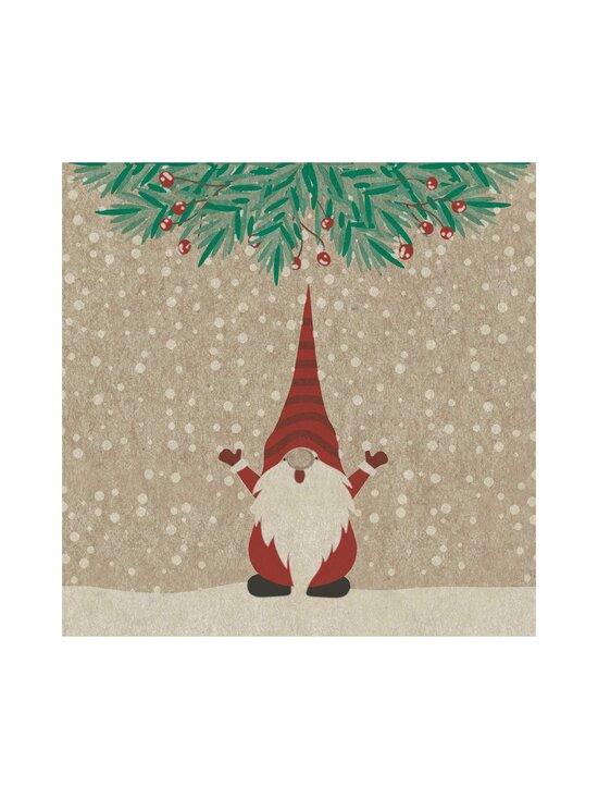 Paper+Design - Happy Santas -servetti 24 cm - MULTI-COLOUR | Stockmann - photo 1