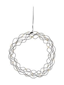 Star - Hanging Decoration Curly -koristevalo 30 x 30 x 6 cm - BLACK (MUSTA)   Stockmann