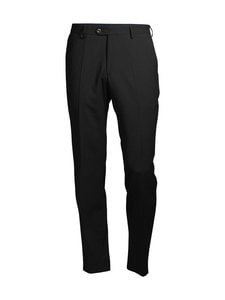 Oscar Jacobson - Diego Trousers -housut - 310 BLACK | Stockmann