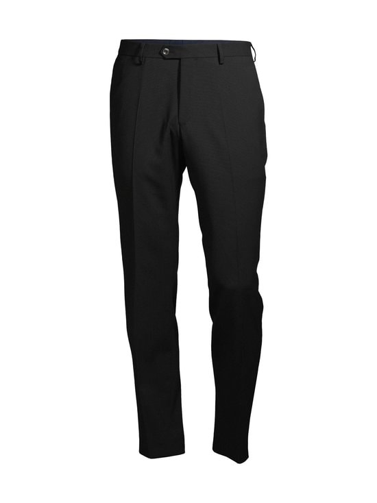Oscar Jacobson - Diego Trousers -housut - 310 BLACK | Stockmann - photo 1