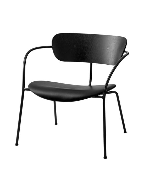 &tradition - Pavilion Lounge AV6 -tuoli - BLACK / BLACK | Stockmann - photo 1