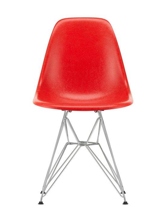 Vitra - Eames DSR Fiberglass -tuoli - 01 CHROME/CLASSIC RED 09   Stockmann - photo 1