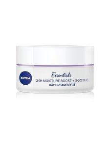 NIVEA - Essentials 24 h Moisture Boost + Soothe Day Cream -päivävoide 50 ml | Stockmann