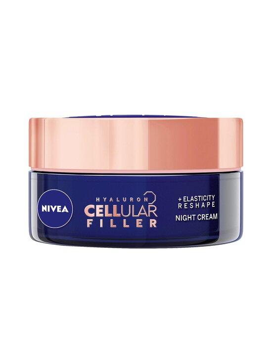NIVEA - Cellular Hyaluron Filler + Elasticity-Reshape Night Cream -yövoide 50 ml - NO COLOR | Stockmann - photo 1