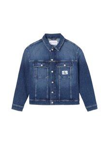 Calvin Klein Jeans Plus - Plus Size 90's Denim Jacket -farkkutakki - 1BJ DENIM DARK   Stockmann