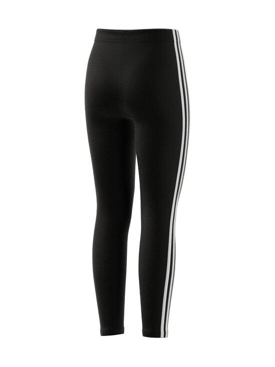 adidas Performance - ESSENTIALS 3 STRIPES -leggings - BLACK/WHITE | Stockmann - photo 3