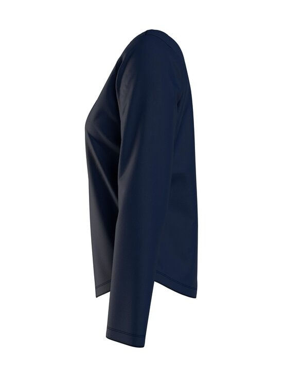Tommy Hilfiger - LS TEE HENLEY -pyjamatoppi - DW5 DESERT SKY | Stockmann - photo 4