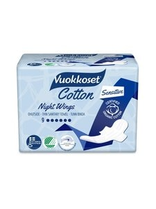 Vuokkoset - Cotton Night Wings -yöohutside 9 kpl - null | Stockmann