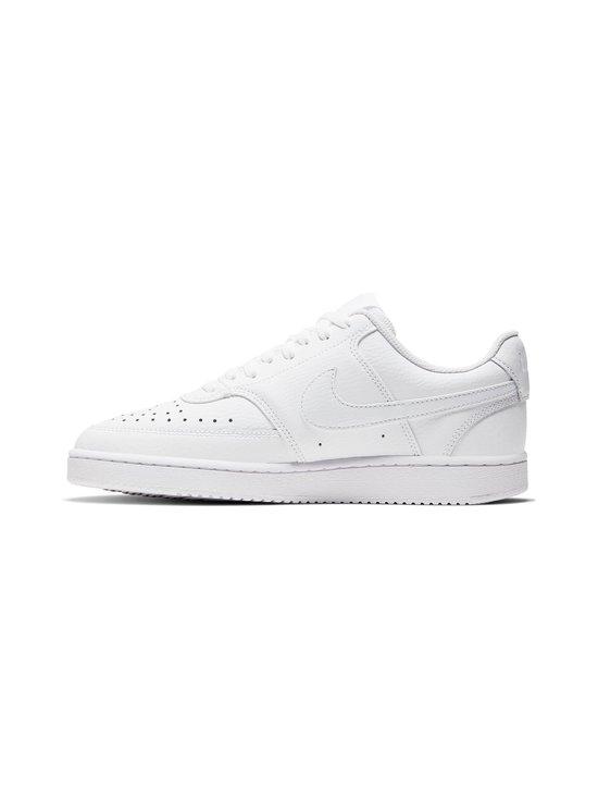 Nike - Court Vision Low -tennarit - WHITE/WHITE-WHITE | Stockmann - photo 5