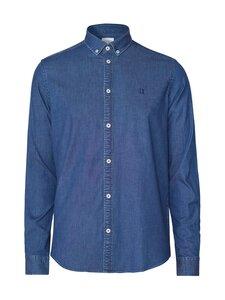 Les Deux - Harper Chambray Shirt -kauluspaita - 460460-DARK NAVY | Stockmann