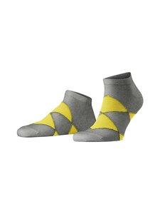 Burlington - Organic Argyle Sneaker -sukat - 3400 LIGHT GREY | Stockmann
