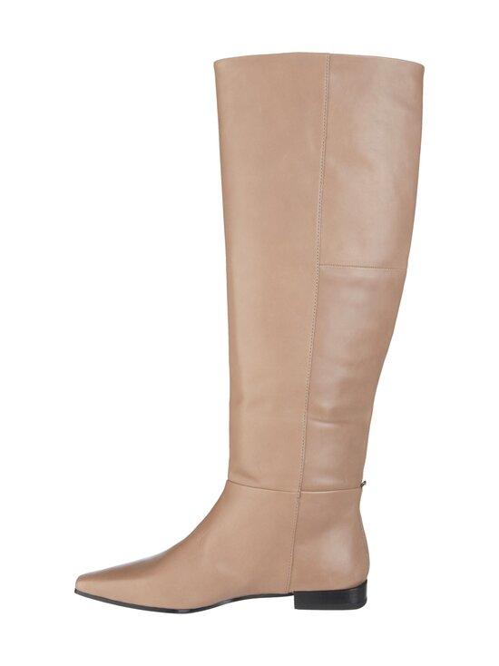 Vagabond - Lene Tall Loose Boots -nahkasaappaat - 26 GREIGE   Stockmann - photo 2
