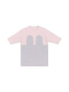 R/H - Mickey Square Dress -mekko - LIGHT GREY / BABY PINK | Stockmann