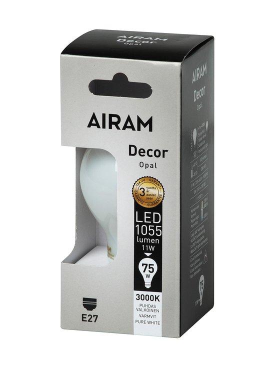 Airam - LED Decor Classic Opal 11W E27 -lamppu - VALKOINEN | Stockmann - photo 1