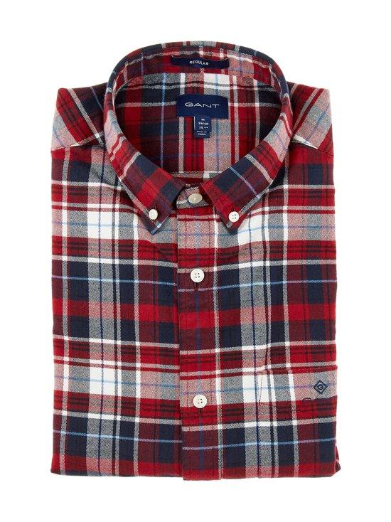 Brushed Oxford Plaid Reg -paita